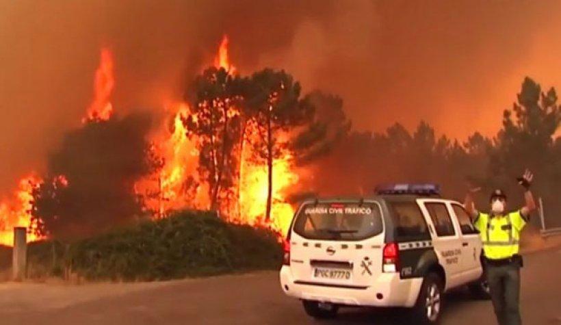 Portekiz'de Korkunç Yangın: 57 Ölü