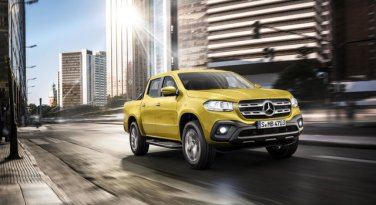 Mercedes'ten devrim gibi hamle: İşte Mercedes X-Class Pick up