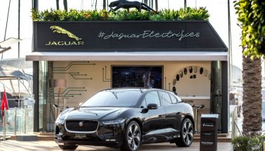 Jaguar Electric Zone'u Bodrum'da