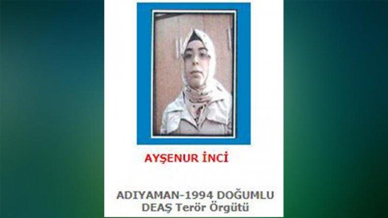IŞİDli Ayşenur İnci itiraz üzerine tutuklandı 99