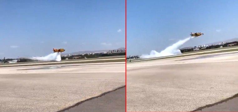 Pakdemirli'nin 'motoru yok' dediği uçaklar gösteri yaptı