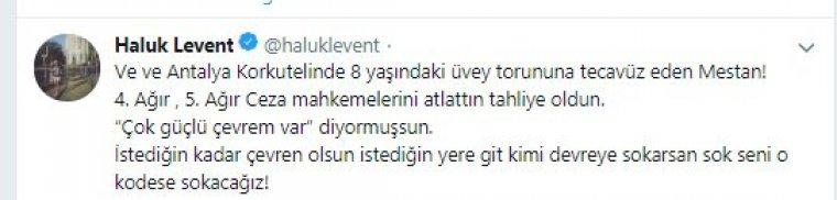 Haluk Levent: Seni o kodese sokacağız Mestan