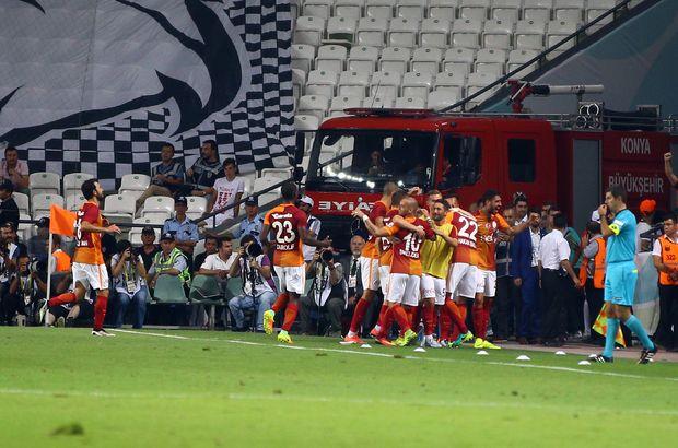 Süper Kupa Galatasaray'ın, maç sonucu