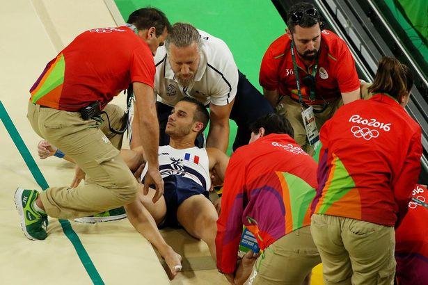 Samir Ait Said Bacağı kırıldı