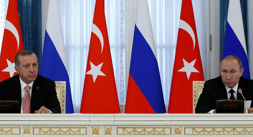 Erdoğan ve Putin basın açıklaması