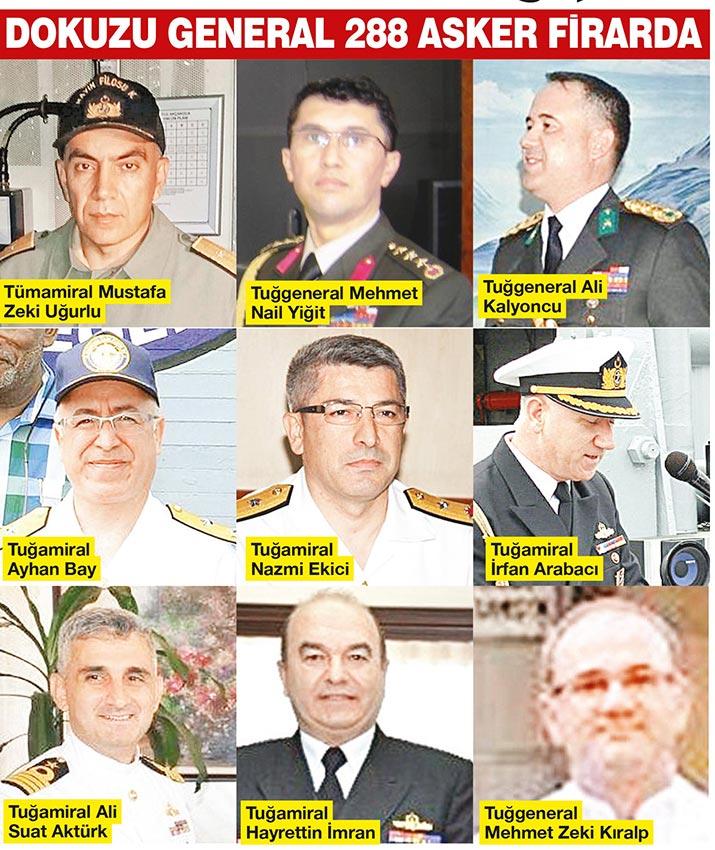 Kayıp Generaller PKK'ya sığınmış..