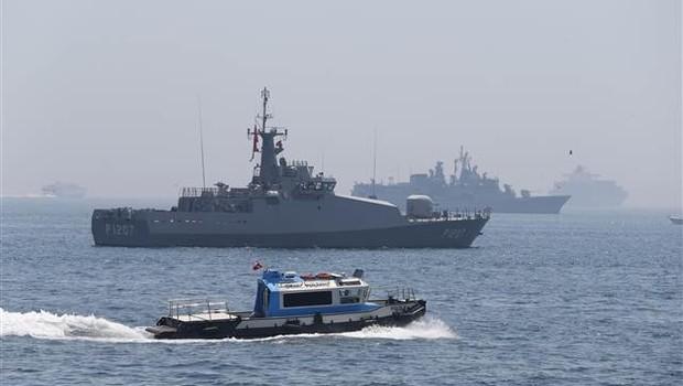 Türk Savaş Gemileri Yenikapı