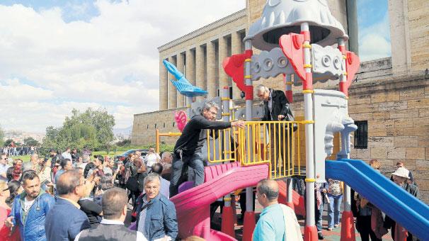 Anıtkabir çocuk parkı sökülüyor