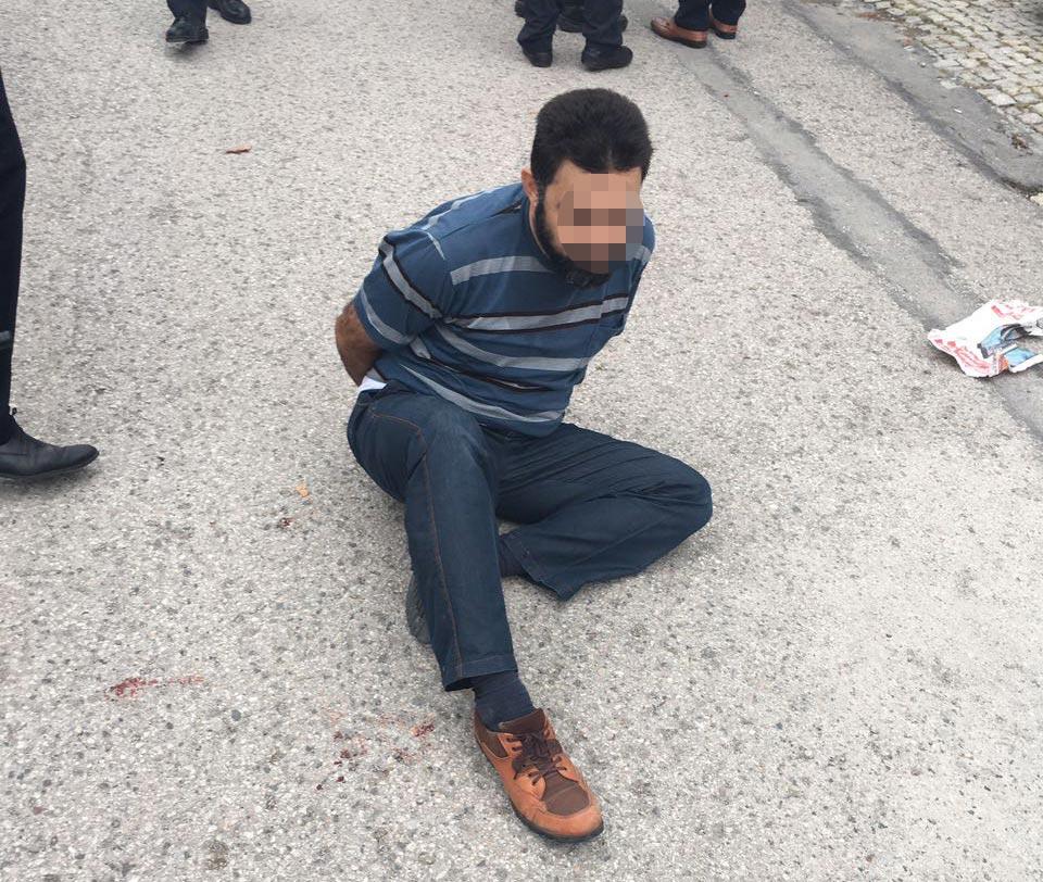 İsrail Büyükelçiliğine saldırı