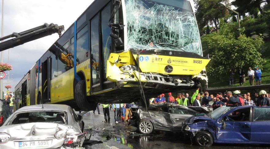 Metrobüs Kazası Şemsiyeli saldırgan tutuklandı