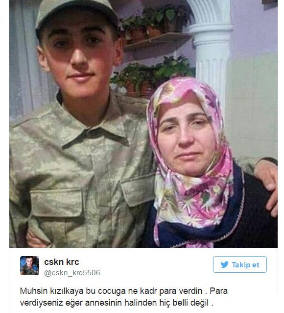 Asker Ölmek için para alıyor