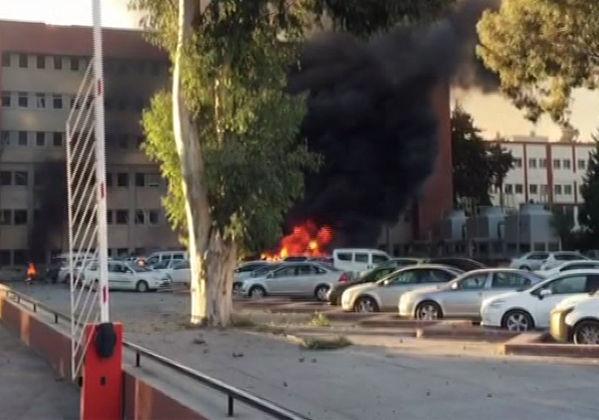 Adana Valiliği Patlama, Bomba Yüklü araç