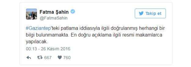 Gaziantep'te büyük patlama,Antep'te bomba mı patladı?